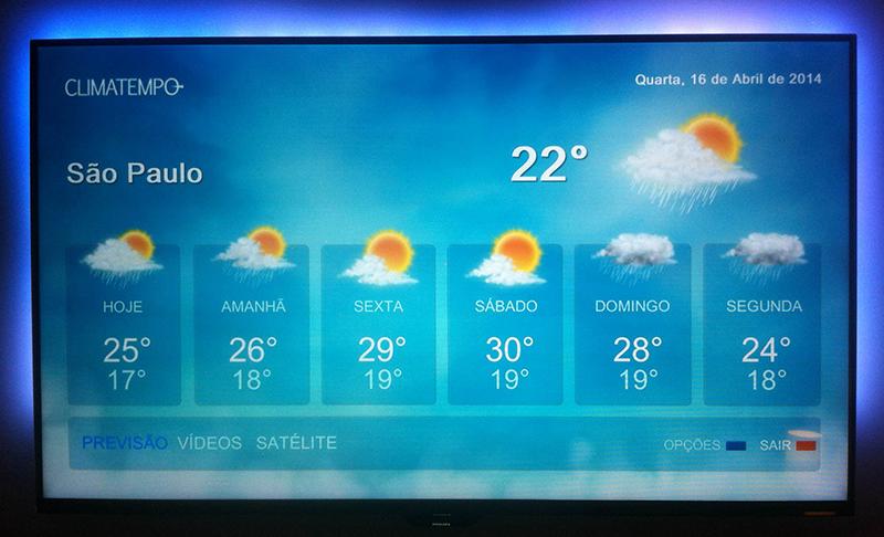 Climatempo TV Philips