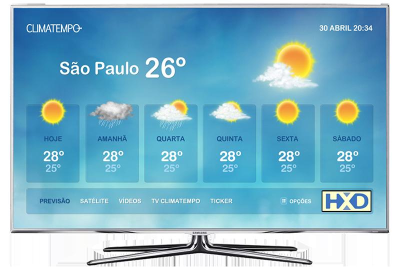 Climatempo Tela Inicial