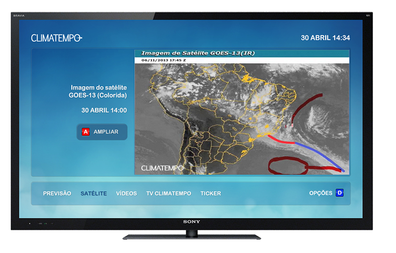 Climatempo Tela Satélite